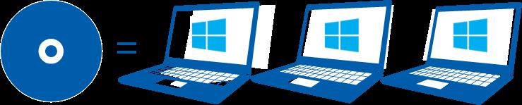 パソコンインストール